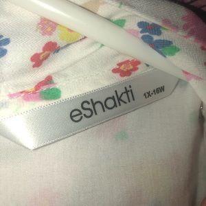 eshakti Dresses - EShakti spring print dress 1x-16